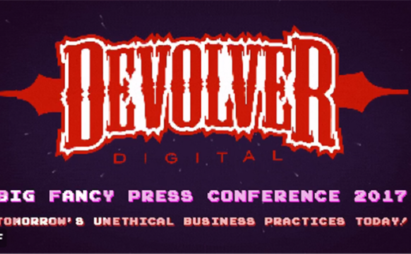 Devolver DigitalのE3 2017プレスカンファレンス「Big Fancy Press Conference 2017」