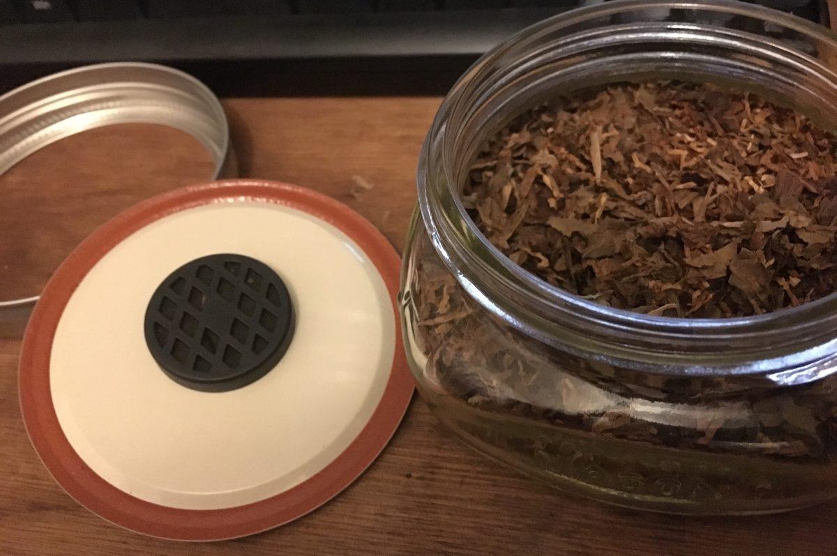 タバコ葉の加湿